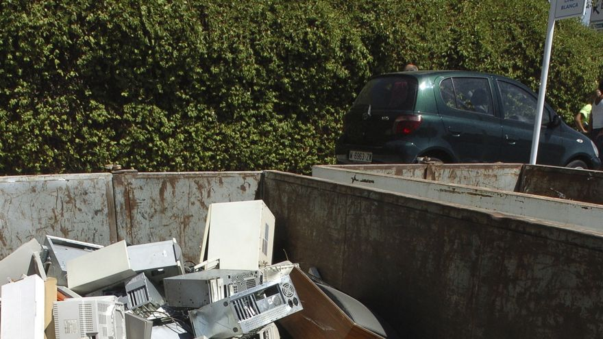Cae un 12% el reciclaje de aparatos eléctricos en el primer semestre del 2020