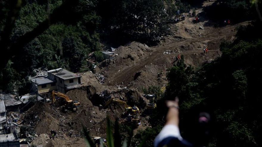 La UE dona recursos para los damnificados del alud que dejó 280 muertos en Guatemala