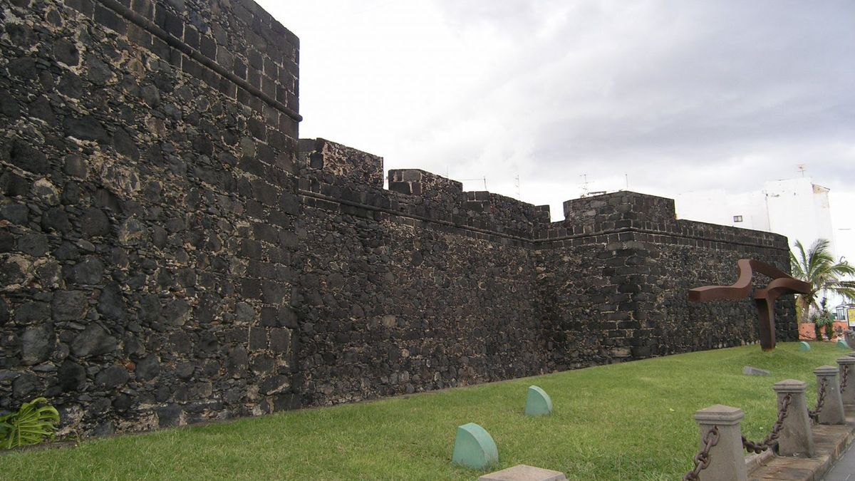 Castillo de Santa Catalina, en Santa Cruz de La Palma.