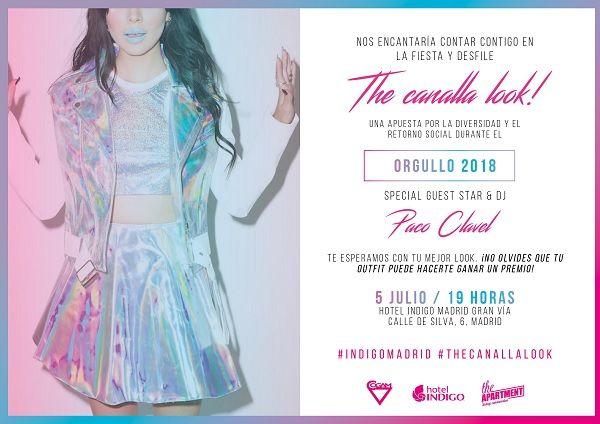 Canalla The Look! 2018 en el Hotel Indigo