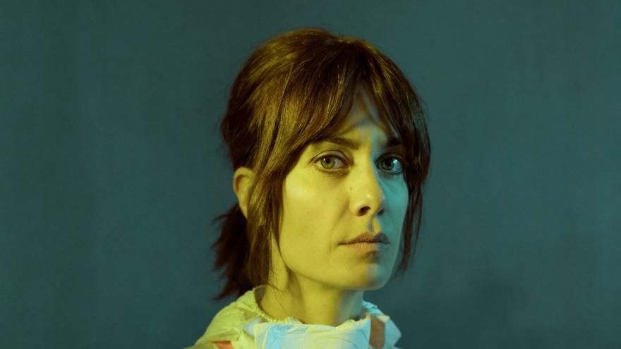 La actriz Alexandra Jiménez, en una imagen promocional de la serie 'La zona'