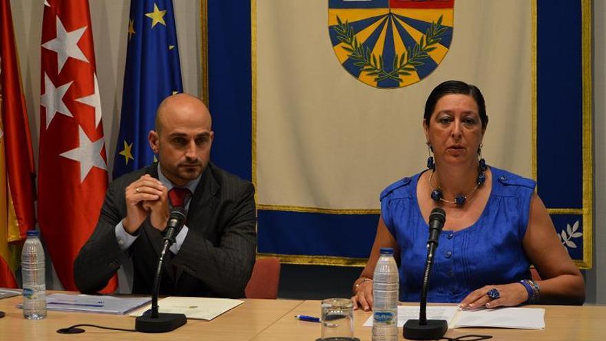 Teresa Fernández (derecha) en una imagen de archivo