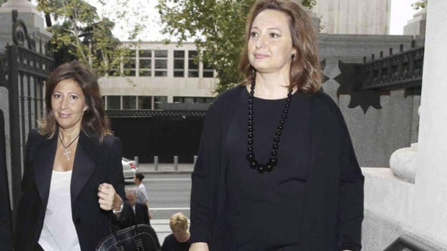 Las hermanas Cristina y Marta Álvarez Guil, hijas y herederas de Isidoro Álvarez.