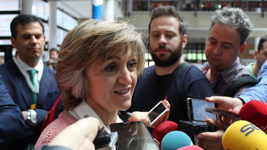 Ministra de Sanidad, María Luisa Carcedo