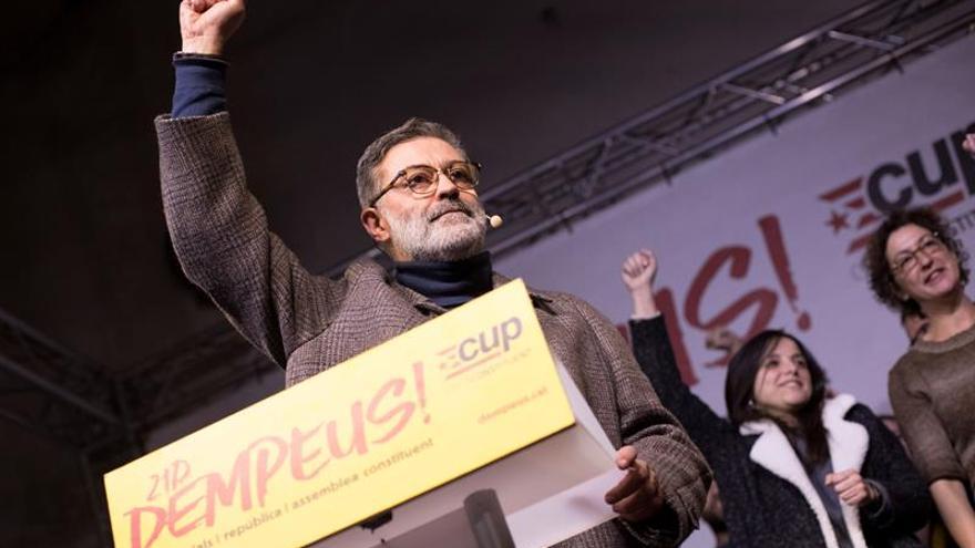 """La CUP avisa de que sólo apoyará a un president que desee materializar la """"república"""""""