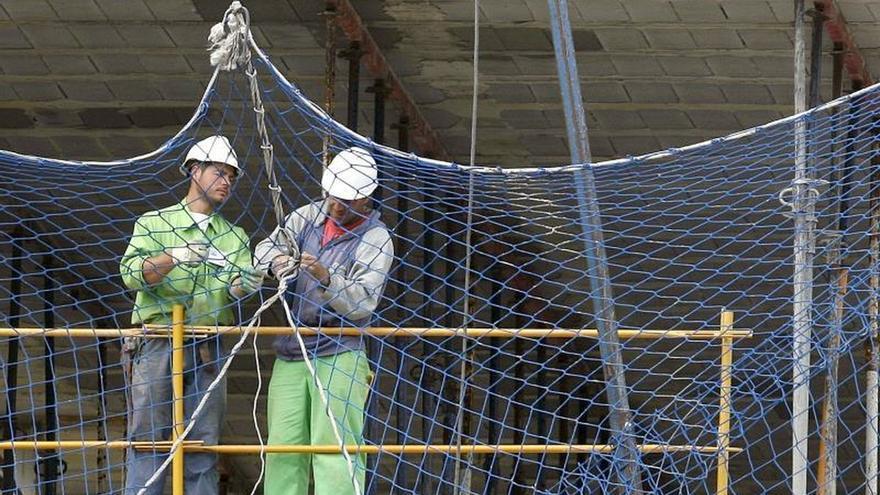 La construcción recupera solo 8 décimas de los 5 puntos de PIB perdidos
