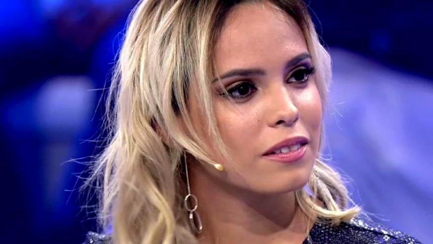 Gloria Camila en un programa de Telecinco