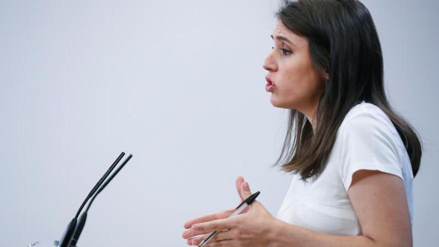 Irene Montero, sobre ser ministra: El veto a Iglesias se extiende a todos