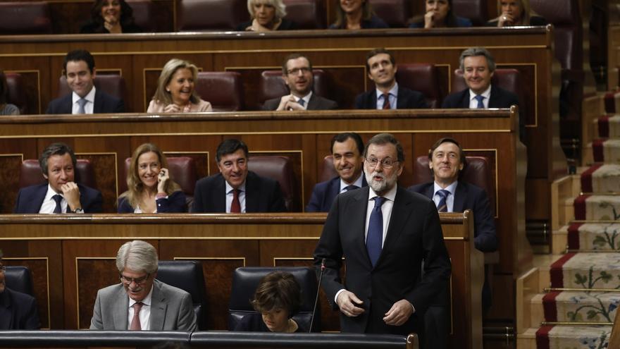 """Rajoy dice al PNV que la distensión política en Cataluña """"está bien"""", pero que lo primero es cumplir la ley"""