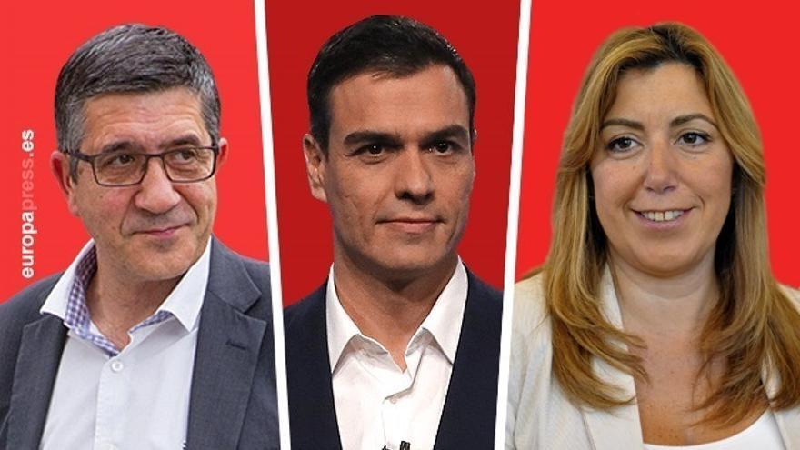 Las candidaturas recogen 8.100 avales para Pedro Sánchez y 5.400 para Susana Díaz en la Comunitat Valenciana