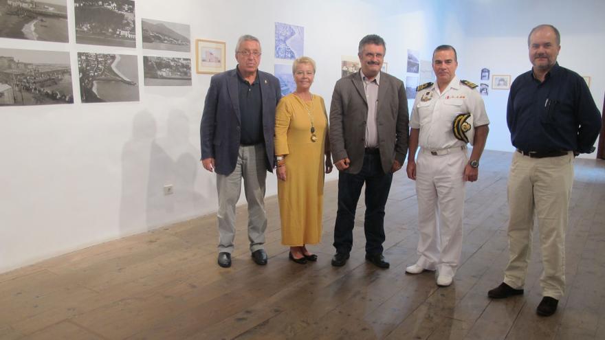 En la imagen, inauguración este jueves de la exposición en la Casa Salazar.