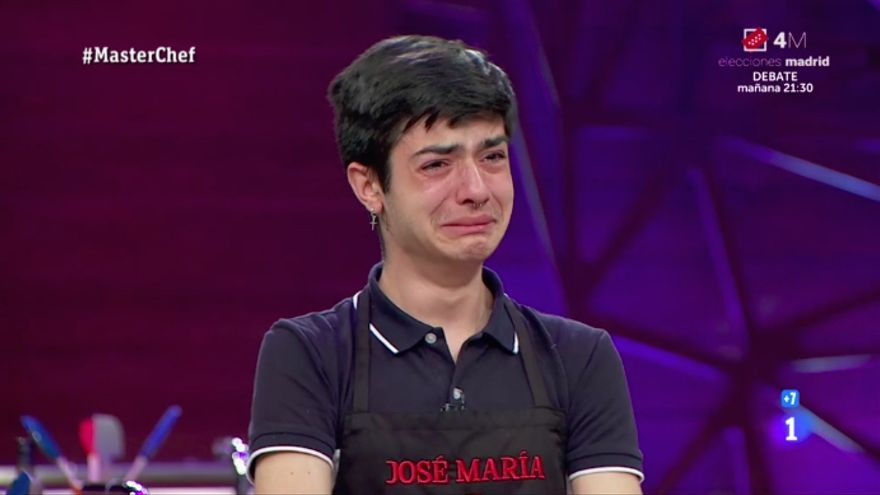 José María, en 'Masterchef 9'