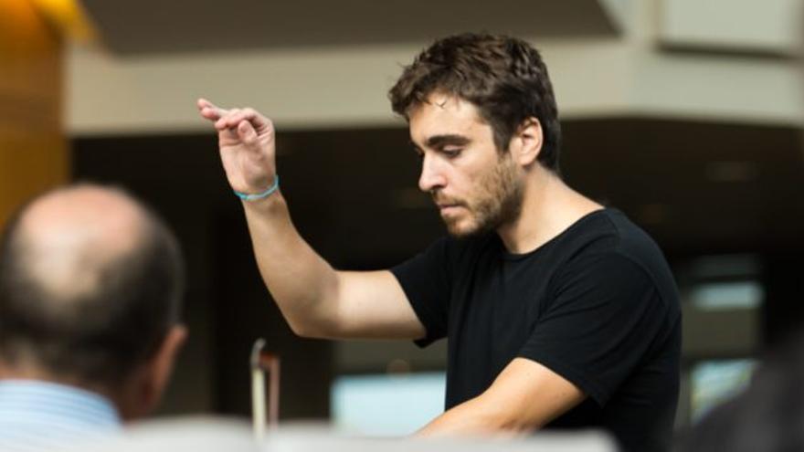 Pablo Rus Broseta, director de la Jove Orquestra de la Generalitat