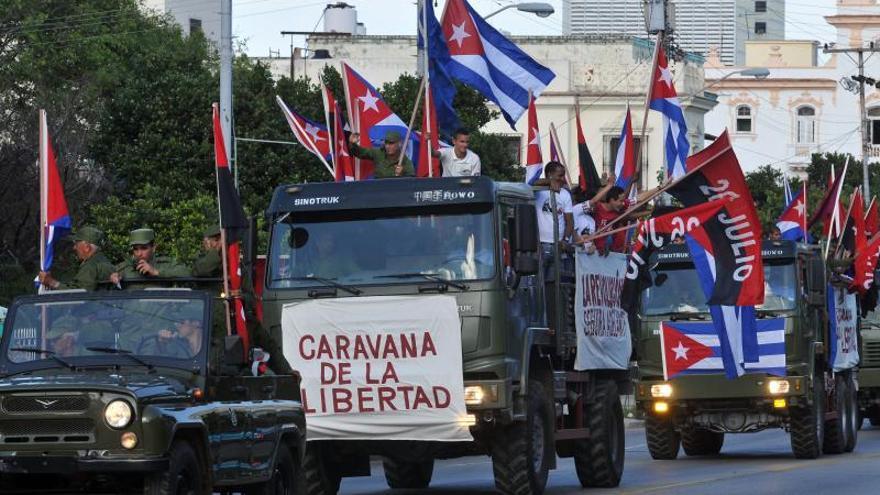 Cuba conmemora el 55 aniversario de la entrada de Fidel Castro en La Habana