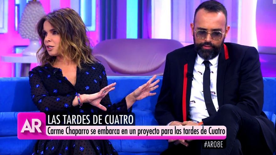 """Carme Chaparro y Risto Mejide en """"El programa de AR"""""""