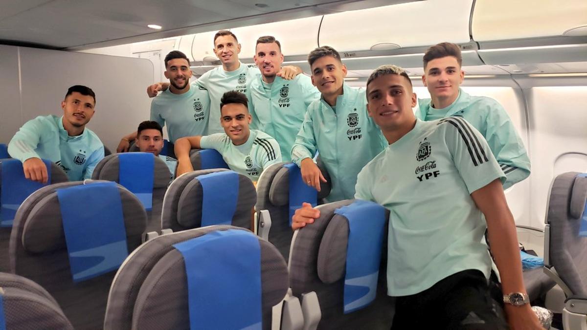 Los jugadores argentinos abandonan San Pablo