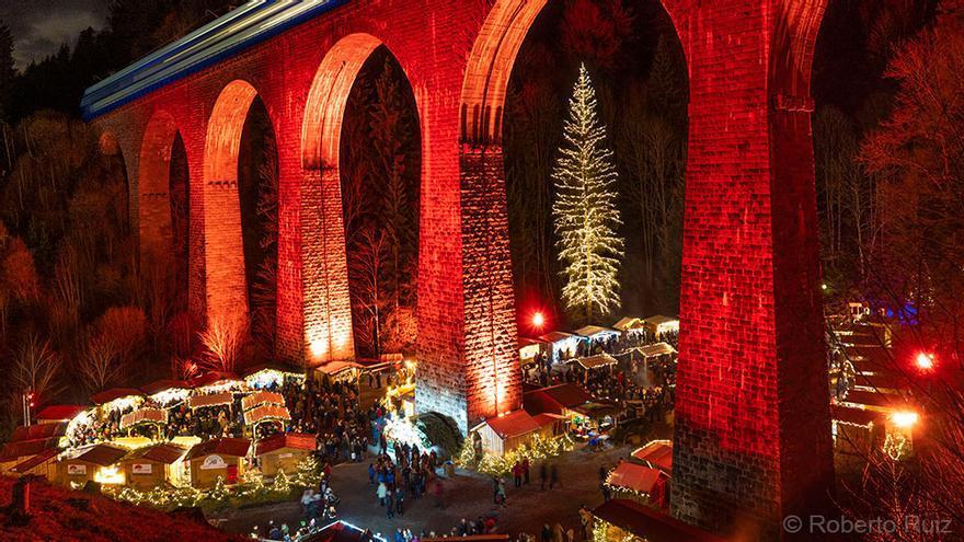 Mercado de Navidad de Ravennaschlucht