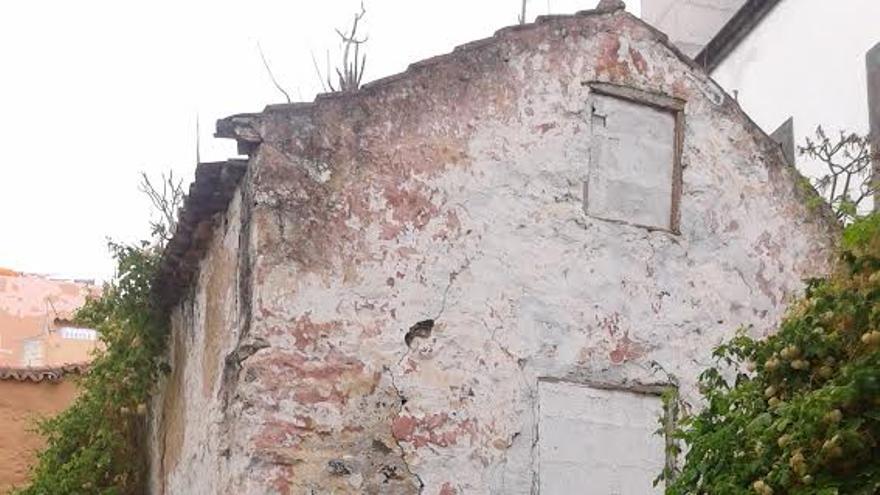 En la imagen, una de las calles, en la Calle Párraga.