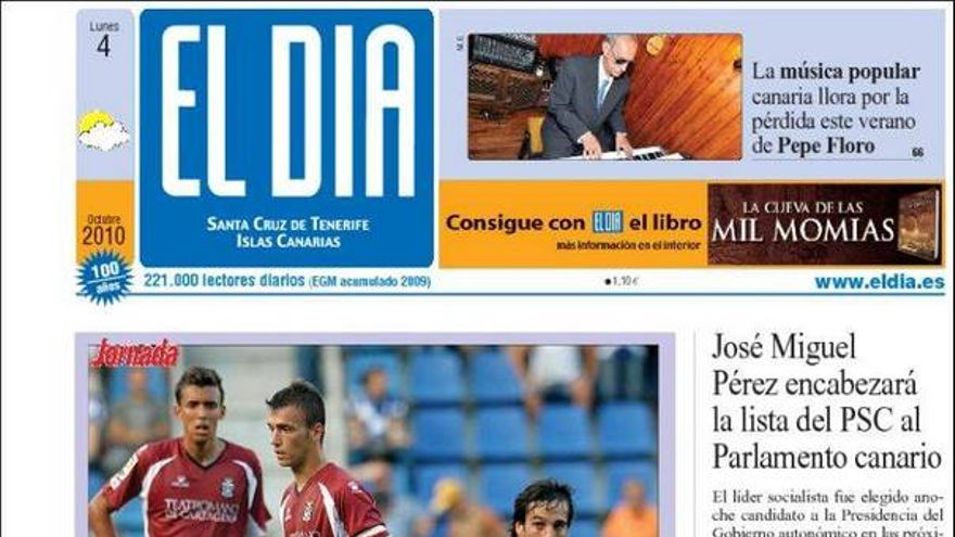 De las portadas del día (04/10/2010) #3