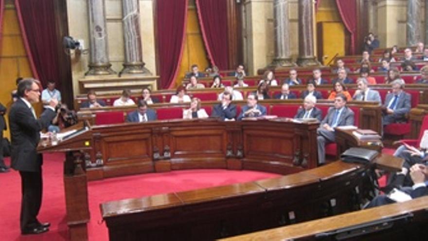 Artur Mas, En El Debate De Política General