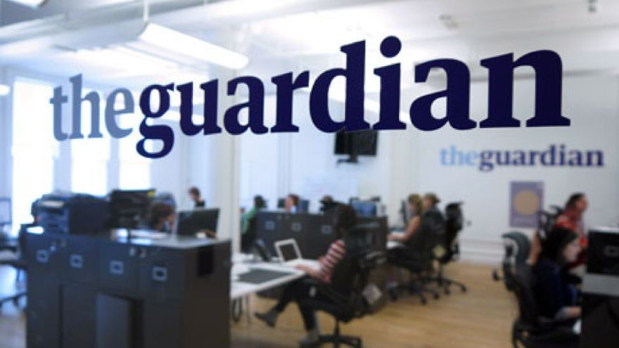Oficinas del medio británico the Guardian