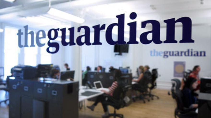 Oficinas del medio británico the Guardian