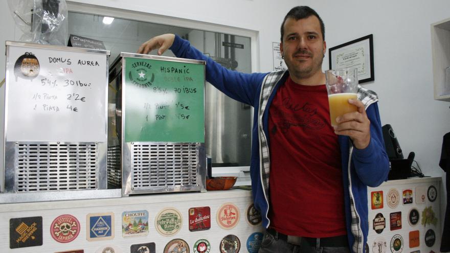 Miguel Ballesteros, cofundador de Cervezas Speranto / Fidel Manjavacas