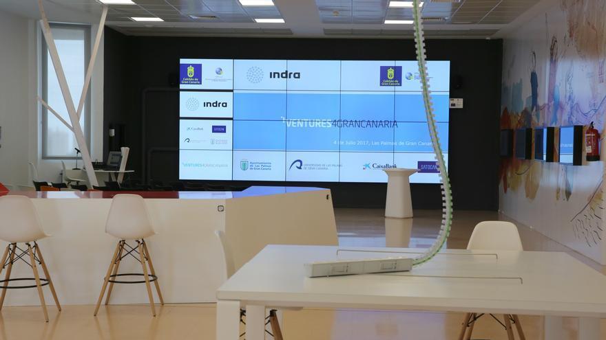 La compañía Indra ha lanzado este martes de la mano del Cabildo el reto Ventures4GranCanaria.