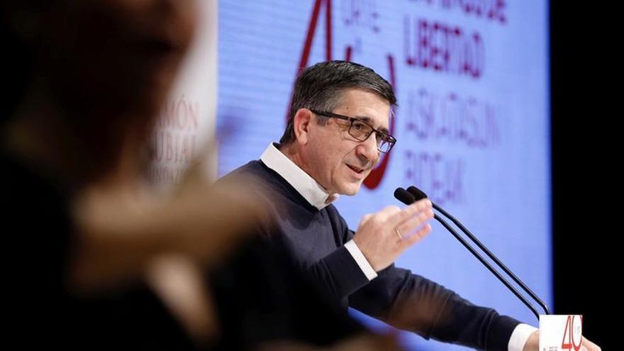 Patxi López, candidato a las primarias del PSOE a la Secretaría General del partido.
