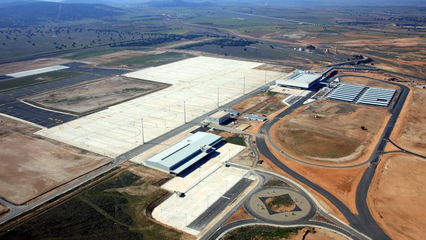 Vista parcial del aeropuerto de Ciudad Real