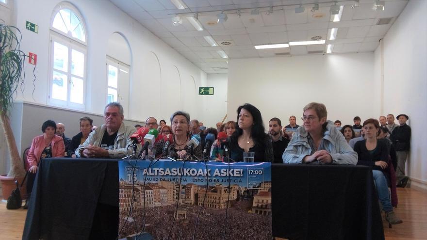 Partidos políticos, sindicatos y colectivos se adhieren a la manifestación contra la sentencia del 'caso Alsasua'