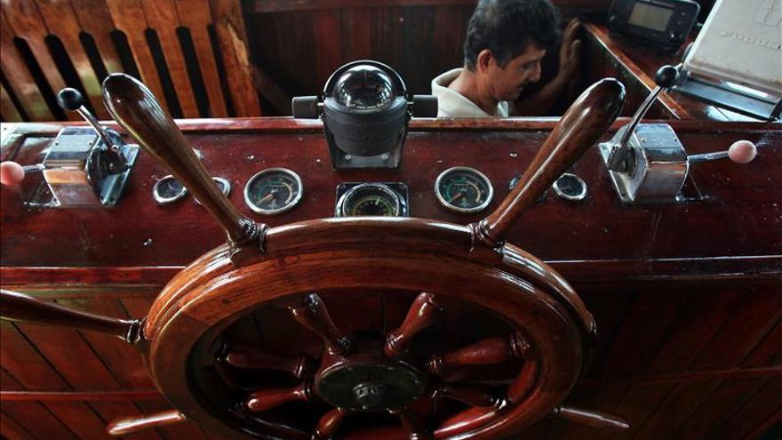 Pasear por el Canal de Panamá en el barco del mafioso y sanguinario Al Capone