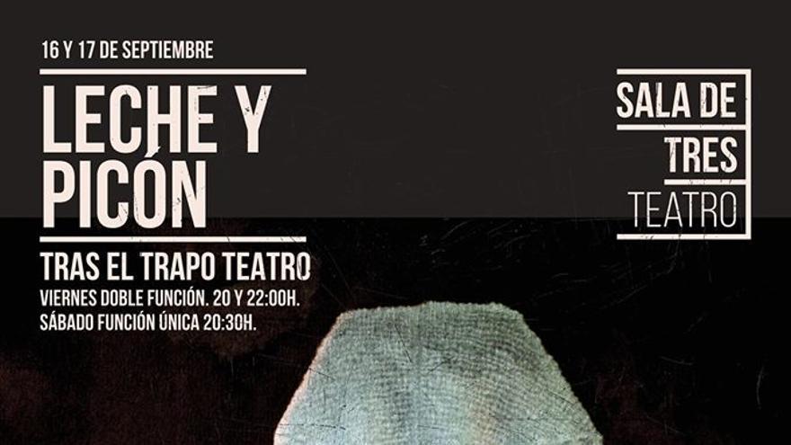 Actuación de 'Leche y picón' de la compañía Tras el Trapo Teatro.