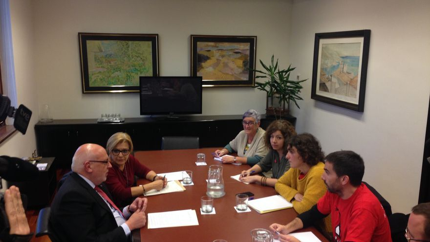 El conseller Baiget se reúne con la Alianza contra la Pobreza Energética