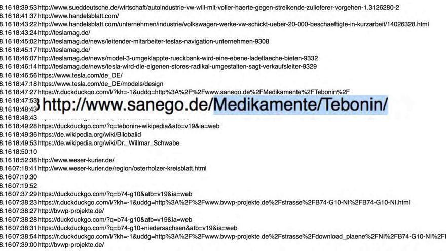 Las URL revelaron datos sobre los viajes y declaración de la renta de la política alemana Valerie Wilms