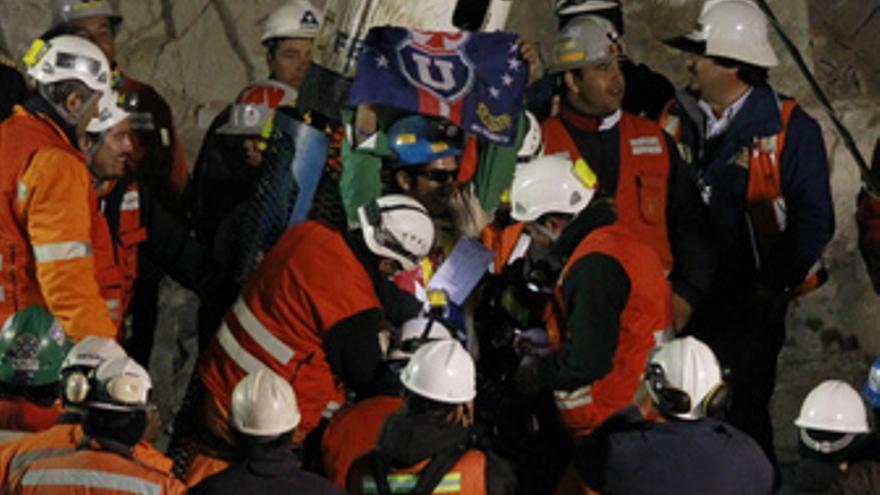 Rescate del minero Jimmy Sanchez