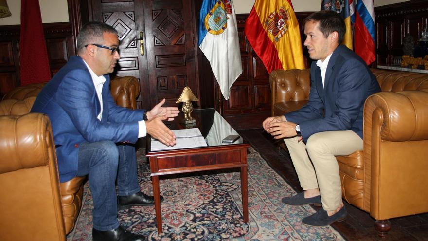 Sergio Matos  y Mariano Hernández Zapata.