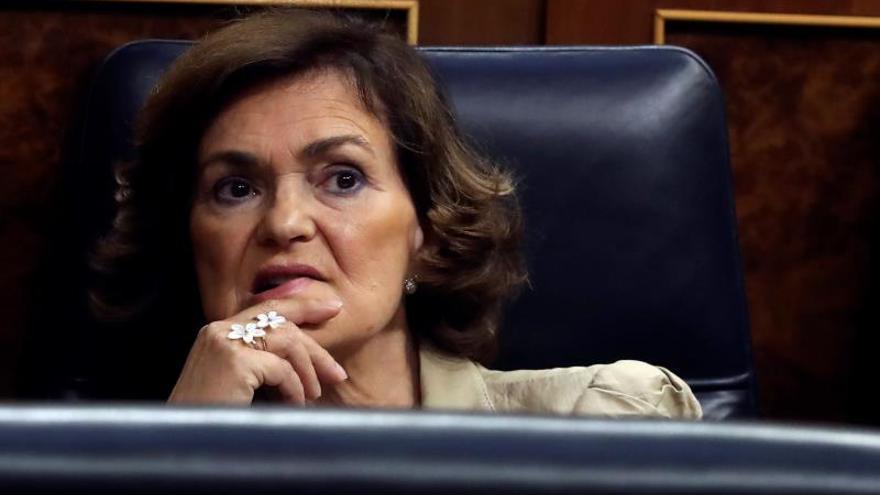 Calvo admite que Podemos podría encargarse de órganos como la CNMV o el CIS