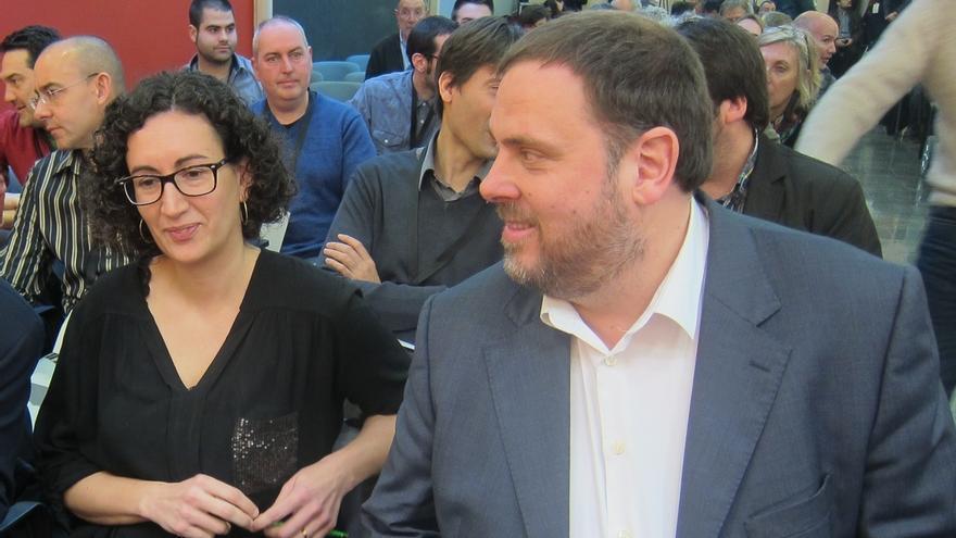 Junqueras apunta a Marta Rovira como presidenta de la Generalitat si ERC gana las elecciones
