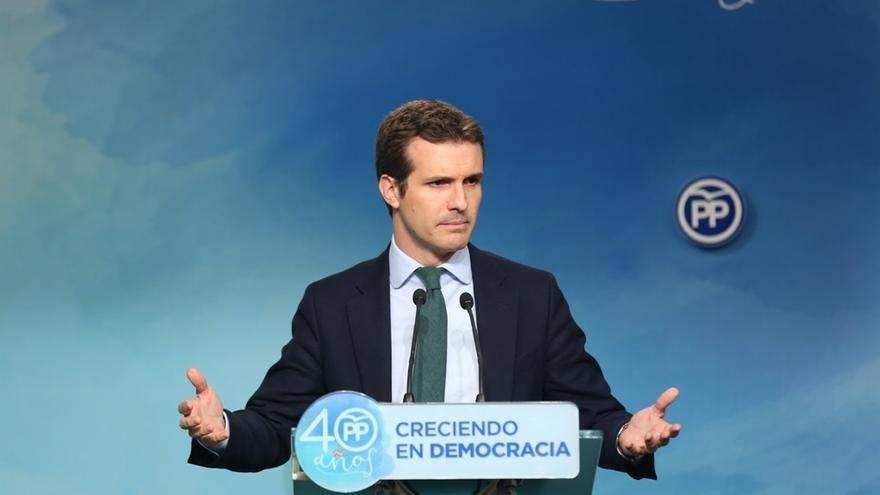 """El PP es """"partícipe"""" del mensaje del Rey para """"pasar página"""" pero sin """"perder el paso por ningún desafío político"""""""