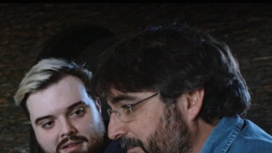 Ibai Llanos, junto a Jordi Évole en laSexta