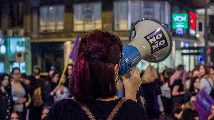Manifestación por el Día Internacional de la Mujer en Murcia / Veintemillas