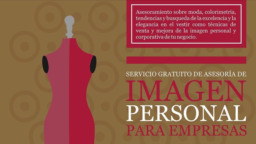 Cartel del servicio de imagen personal.