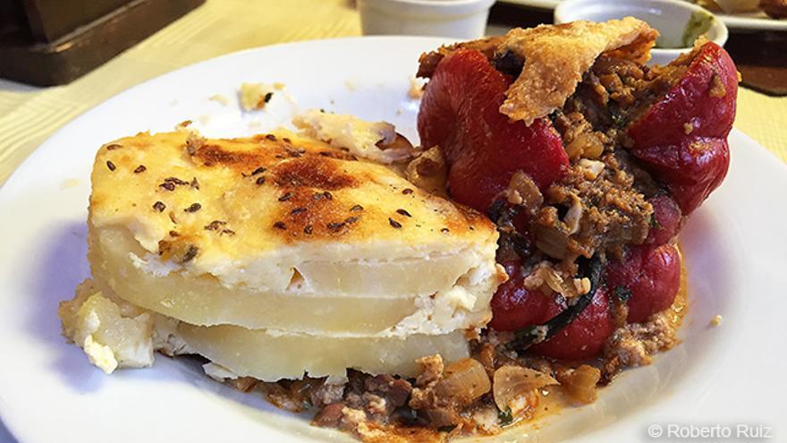 Gastronomía peruana, rocoto relleno