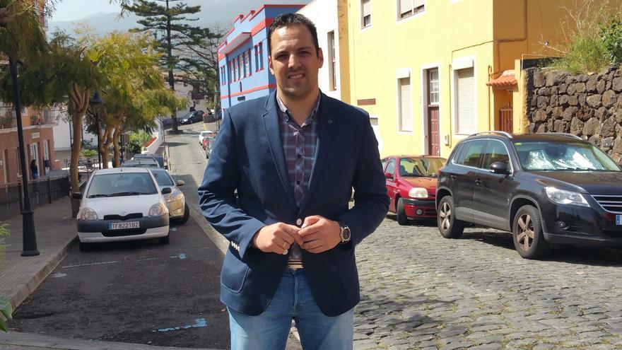 El nacionalista Jonathan Felipe es alcalde de Breña Alta.