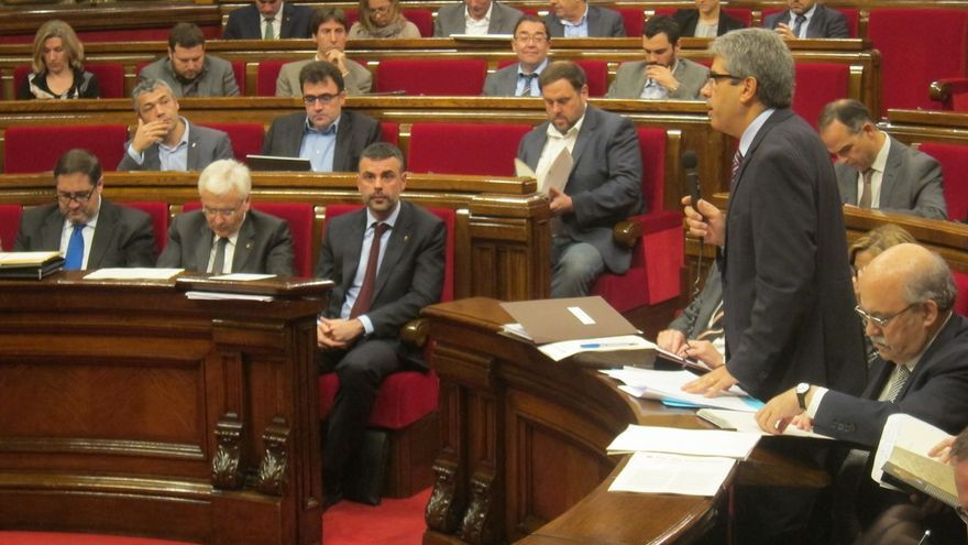Mas-Colell reta al PP a querellarse contra él si desaprueba su gestión económica en la Generalitat de Cataluña