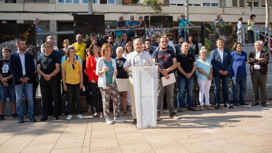 """Partidos y entidades independentistas piden responder con """"lucha no violenta"""" y desobediencia a la sentencia"""