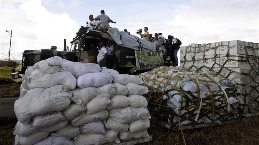 La ONU urge más rapidez en la entrega de ayuda en la devastada Filipinas