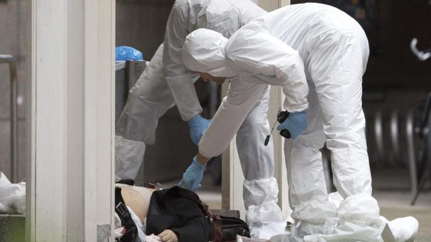 Dos personas mueren en una agresión frente en un juzgado alemán