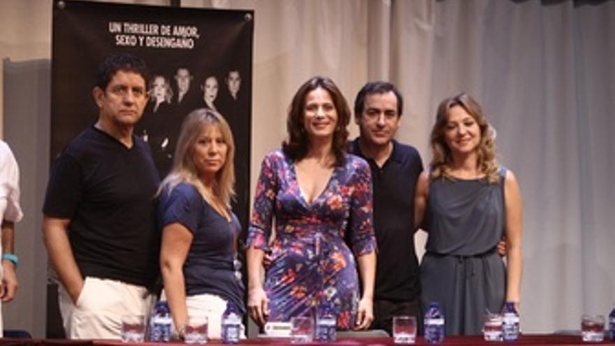 Actores y directora de 'Babel'